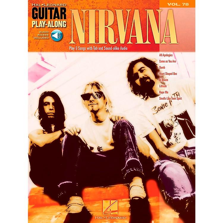 Hal LeonardNirvana Guitar Play-Along Series Volume 78 (Book/CD)