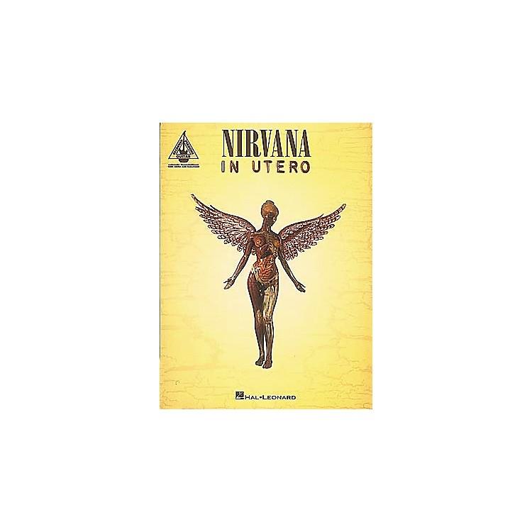 Hal LeonardNirvana In Utero Guitar Tab Songbook