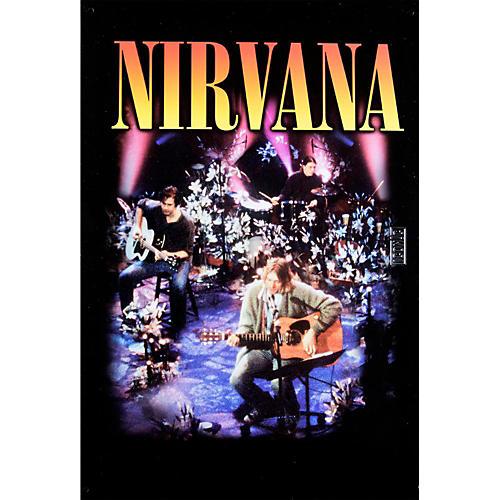 Iconic Concepts Nirvana MTV Tin Sign