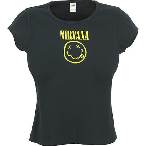 Gear One Nirvana Smile Babydoll T-Shirt-thumbnail