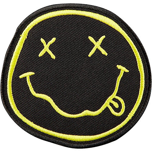 C&D Visionary Nirvana Smiley Face Patch-thumbnail