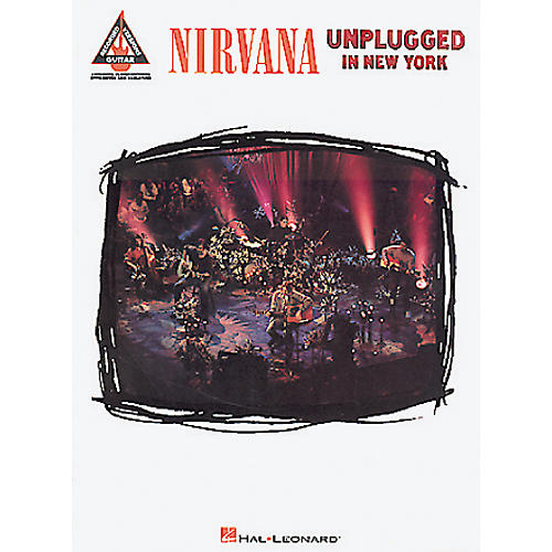 Hal Leonard Nirvana Unplugged in New York Guitar Tab Songbook