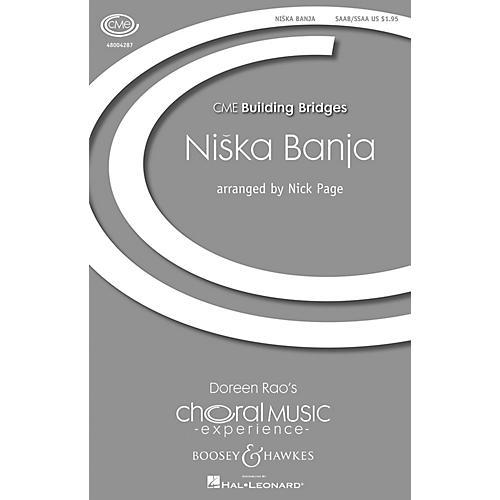 Boosey and Hawkes Niska Banja (CME Building Bridges) SAAB/SSAA arranged by Nick Page-thumbnail