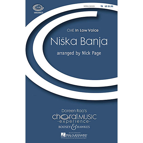 Boosey and Hawkes Niska Banja (CME In Low Voice) TB arranged by Nick Page-thumbnail