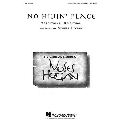 Hal Leonard No Hidin' Place SATB DV A Cappella arranged by Moses Hogan-thumbnail