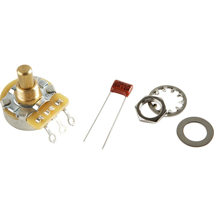 Fender No-Load 250K Solid Shaft Potentiomenter