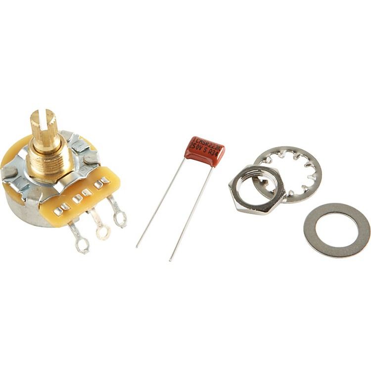 Fender No-Load 250K Split Shaft Potentiomenter