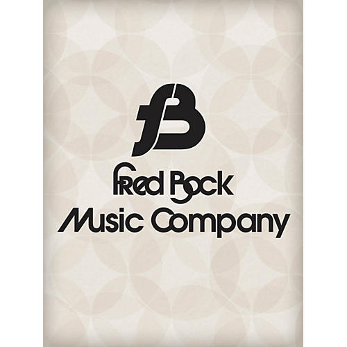 Fred Bock Music No Longer a Baby SATB Composed by Jan Sanborn