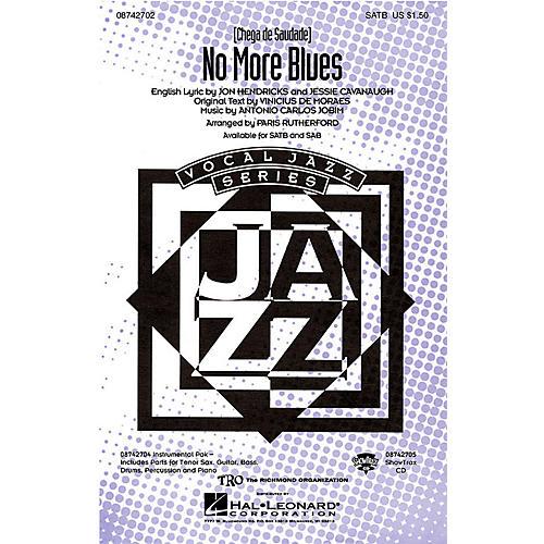 Hal Leonard No More Blues (Chega de Saudade) ShowTrax CD Arranged by Paris Rutherford-thumbnail