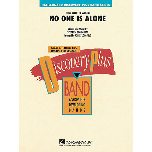 Hal Leonard No One Is Alone (from Into the Woods) - Discovery Plus Band Series Level 2 arranged by Robert Longfield-thumbnail