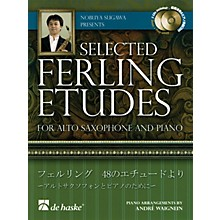 De Haske Music Nobuya Sugawa Presents Selected Ferling Etudes De Haske Intl Play Along Book with CD by Nobuya Sugawa