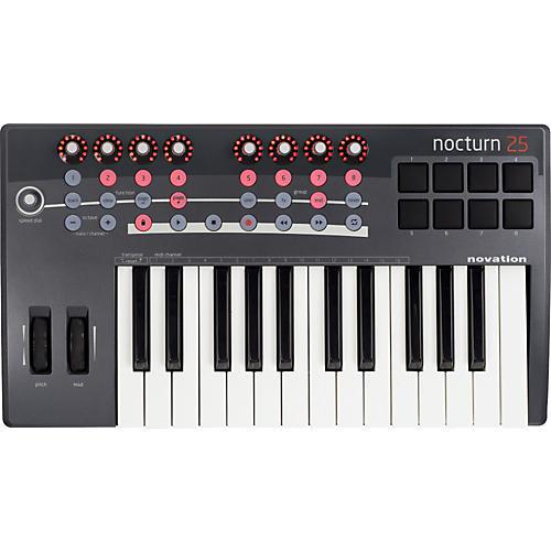 Novation Nocturn 25 MIDI Controller Keyboard