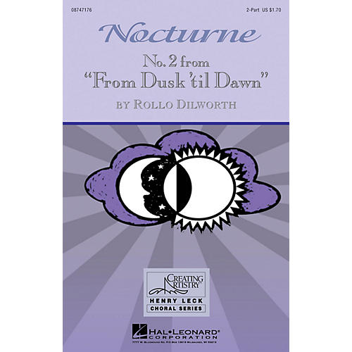 Hal Leonard Nocturne (No. 2 from From Dusk 'Til Dawn) 2-Part composed by Rollo Dilworth-thumbnail