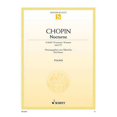 Schott Nocturne in B-flat Minor, Op. 9, No. 1 Schott Series-thumbnail