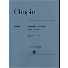 G. Henle Verlag Nocturne in C Sharp minor Op. Posth. By Chopin