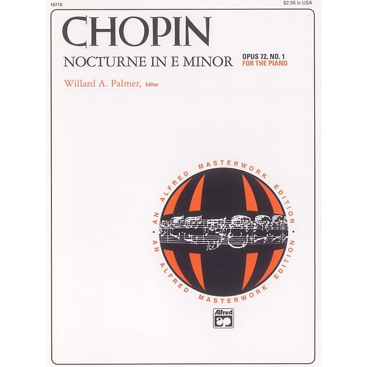 AlfredNocturne in E minor Op. 72 No. 1