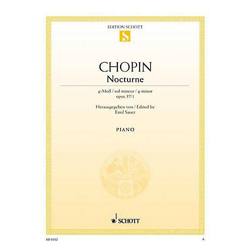 Schott Nocturne in G Minor, Op. 27, No. 1 Schott Series-thumbnail