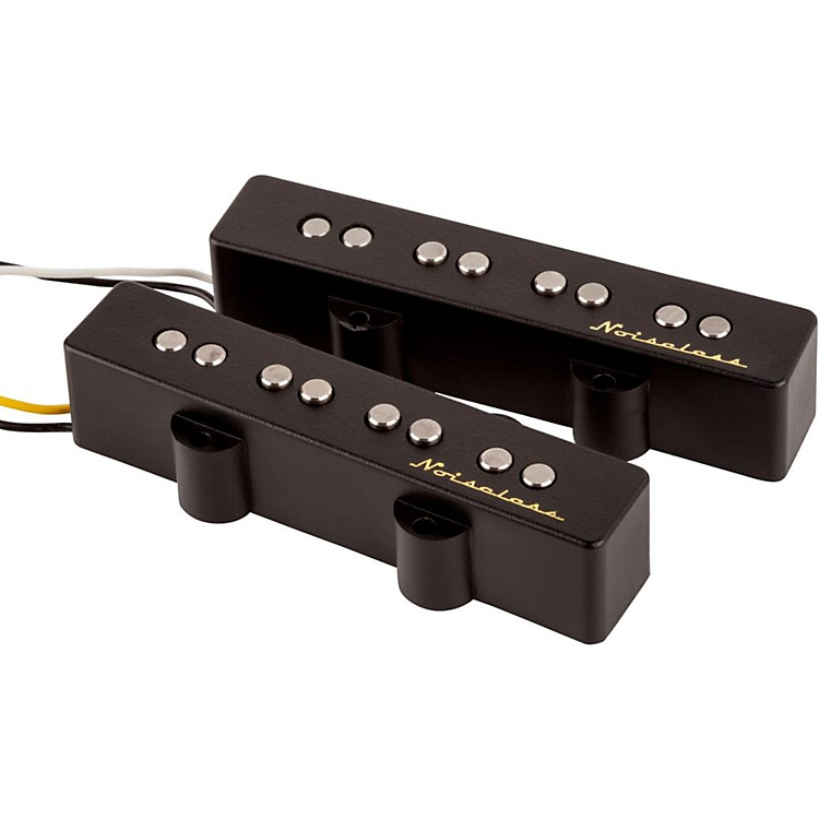 Fender Noiseless J Bass 2-Pickup Set Black