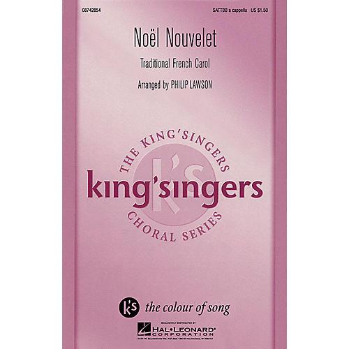 Hal Leonard Noël Nouvelet SATTBB A Cappella arranged by Philip Lawson-thumbnail