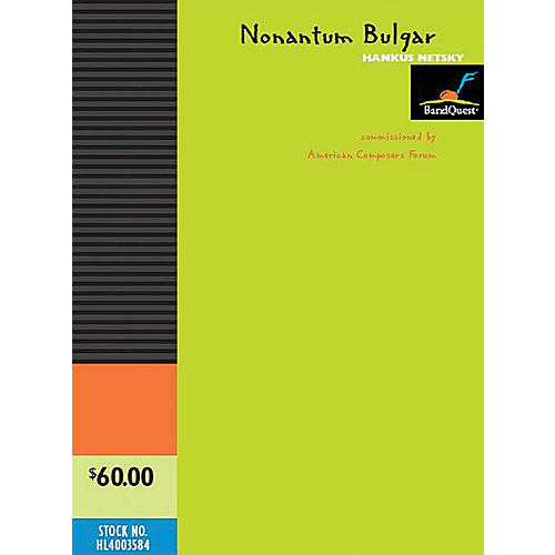 BandQuest Nonantum Bulgar Concert Band Level 3 Composed by Hankus Netsky-thumbnail