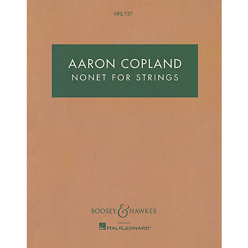 Boosey and Hawkes Nonet for Strings Boosey & Hawkes Scores/Books Series Composed by Aaron Copland-thumbnail