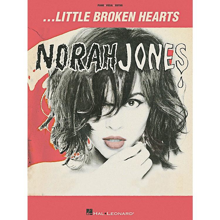 Hal LeonardNorah Jones Little Broken Hearts Piano/Vocal/Guitar Songbook