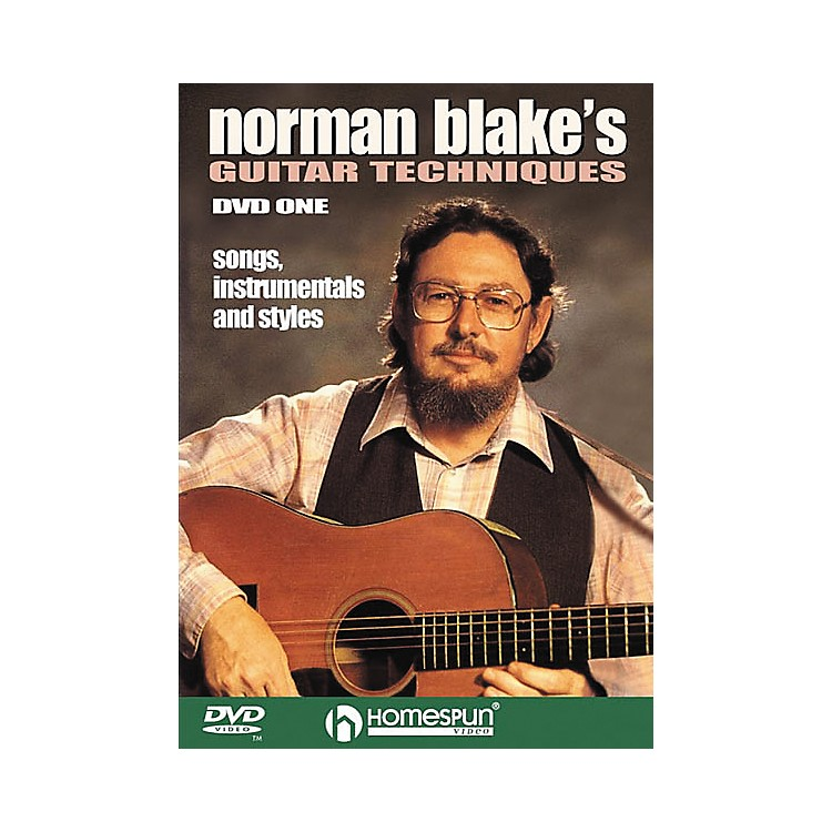Homespun Norman Blake's Guitar Techniques 1 (DVD)