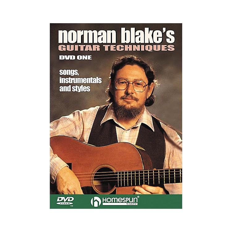 HomespunNorman Blake's Guitar Techniques 1 (DVD)
