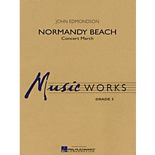 Hal Leonard Normandy Beach Concert Band Level 3 Composed by John Edmondson
