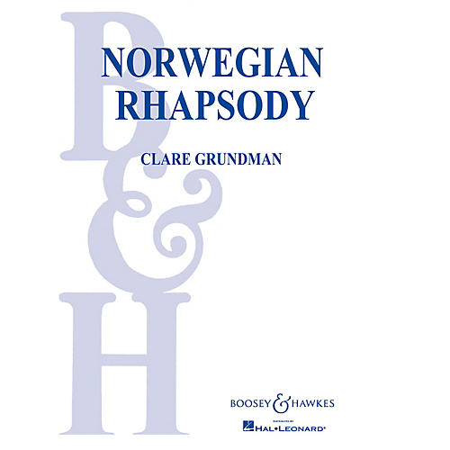 Boosey and Hawkes Norwegian Rhapsody Concert Band Composed by Clare Grundman-thumbnail