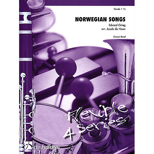 De Haske Music Norwegian Songs Concert Band Level 1.5 Arranged by Jacob de Haan-thumbnail