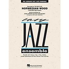 Hal Leonard Norwegian Wood (This Bird Has Flown) Jazz Band Level 2 Arranged by Michael Sweeney