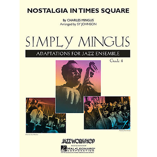 Hal Leonard Nostalgia in Times Square (Young Edition) Jazz Band Level 4 Arranged by Sy Johnson-thumbnail