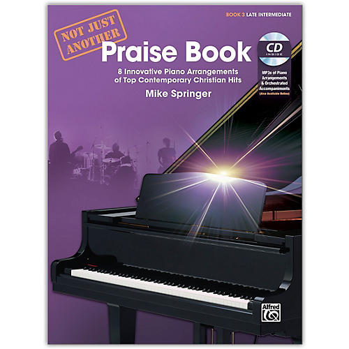 Alfred Not Just Another Praise Book 3, Book & CD Late Intermediate-thumbnail