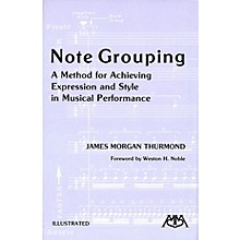 Meredith Music Note Grouping Meredith Music Resource Series by James Morgan Thurmond