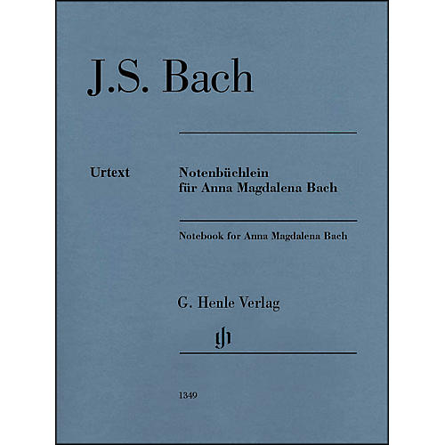 G. Henle Verlag Notebook for Anna Magdalena By Bach