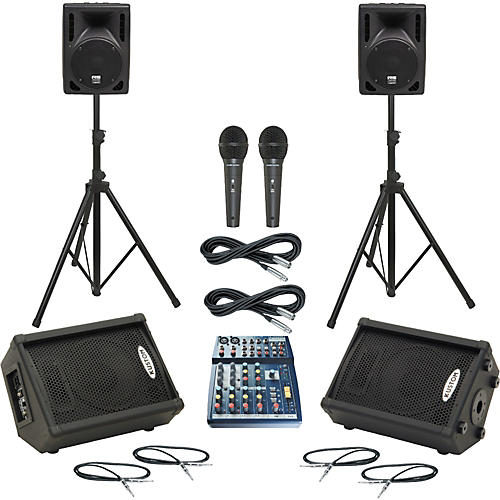 Soundcraft Notepad 102 / RS-408 Mains & Monitors Package-thumbnail