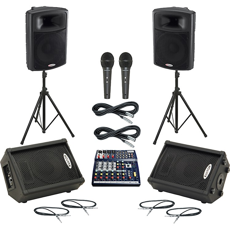 SoundcraftNotepad 124 / APS15 Mains & Monitors Package