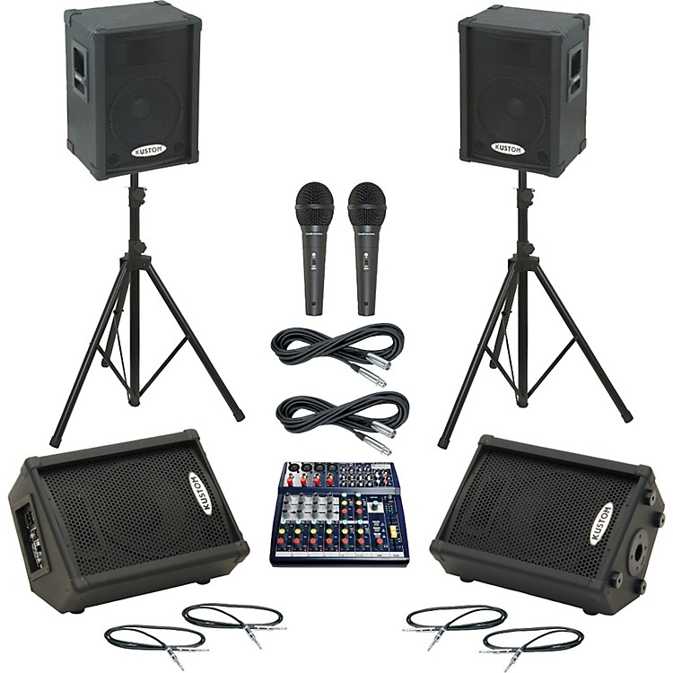 SoundcraftNotepad 124 / KPC12P Mains & Monitors Package