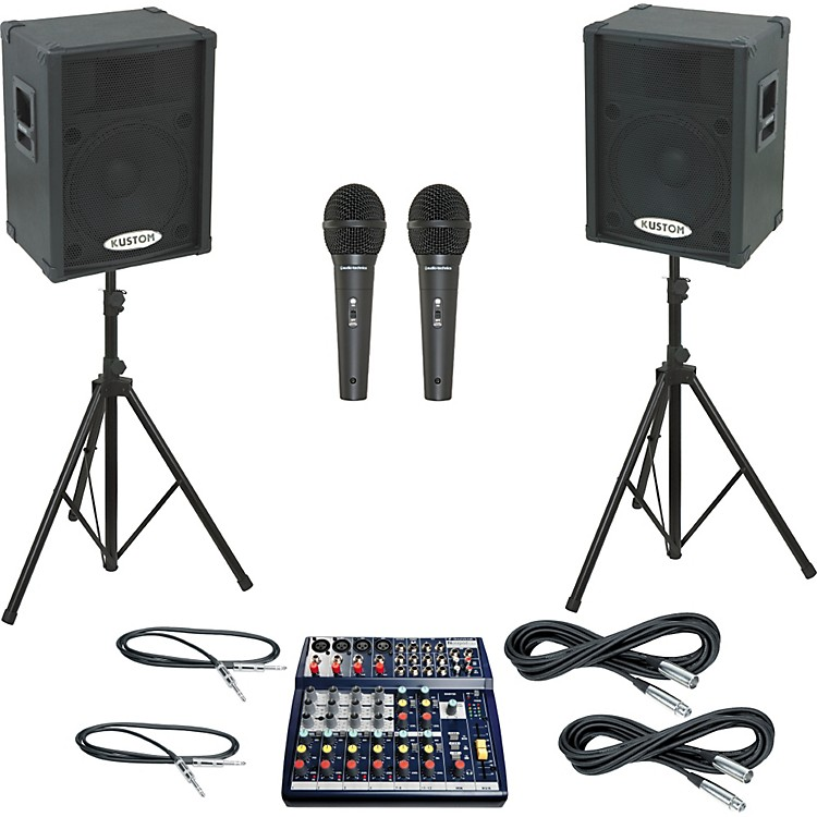 Soundcraft Notepad 124 / KPC15P PA Package