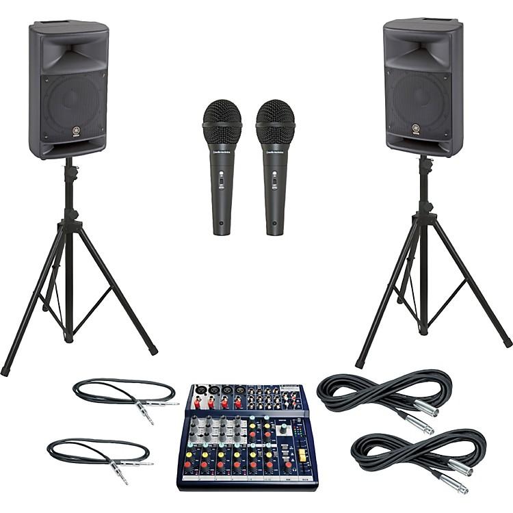 SoundcraftNotepad 124 / MSR250 PA Package
