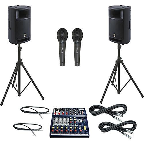 Soundcraft Notepad 124 / MSR400 PA Package