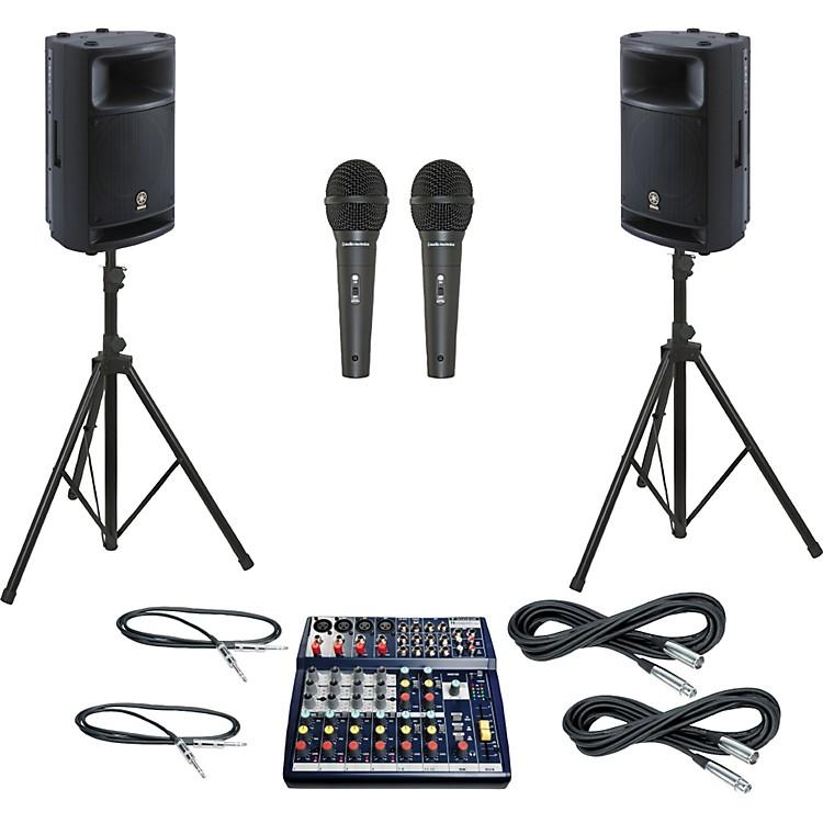 SoundcraftNotepad 124 / MSR400 PA Package