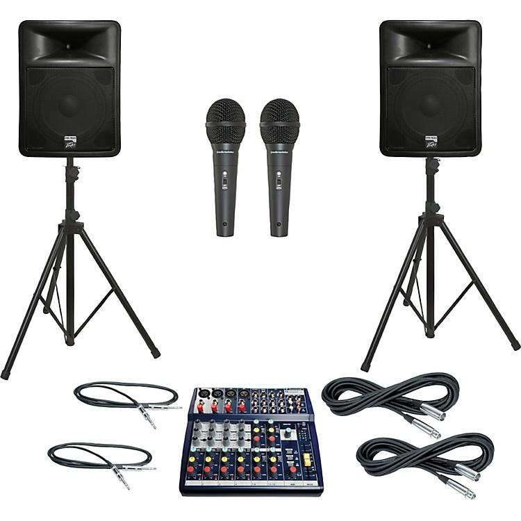 SoundcraftNotepad 124 / PR15D PA Package