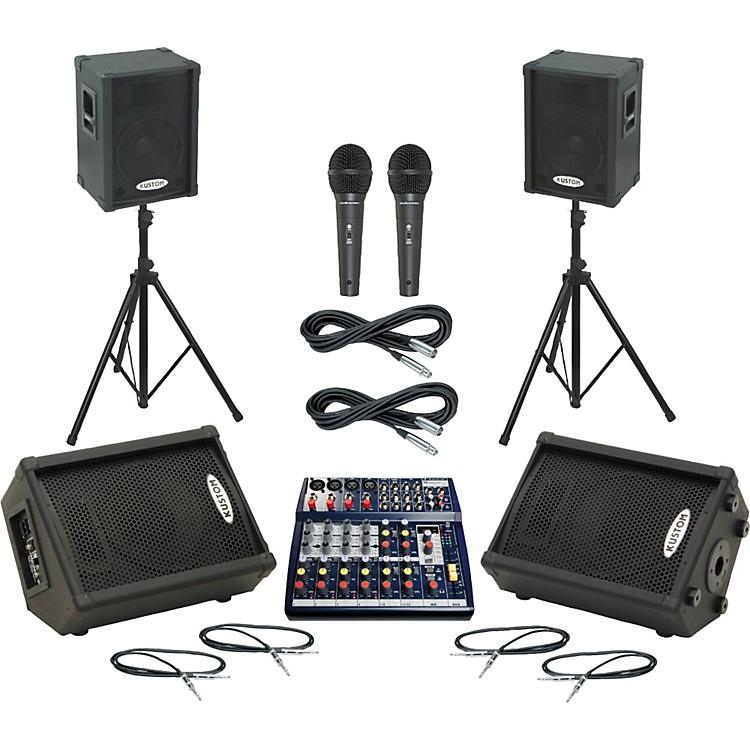 SoundcraftNotepad 124FX / KPC12P Mains & Monitors Package