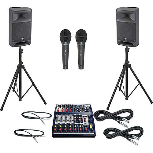 Soundcraft Notepad 124FX / MSR250 PA Package