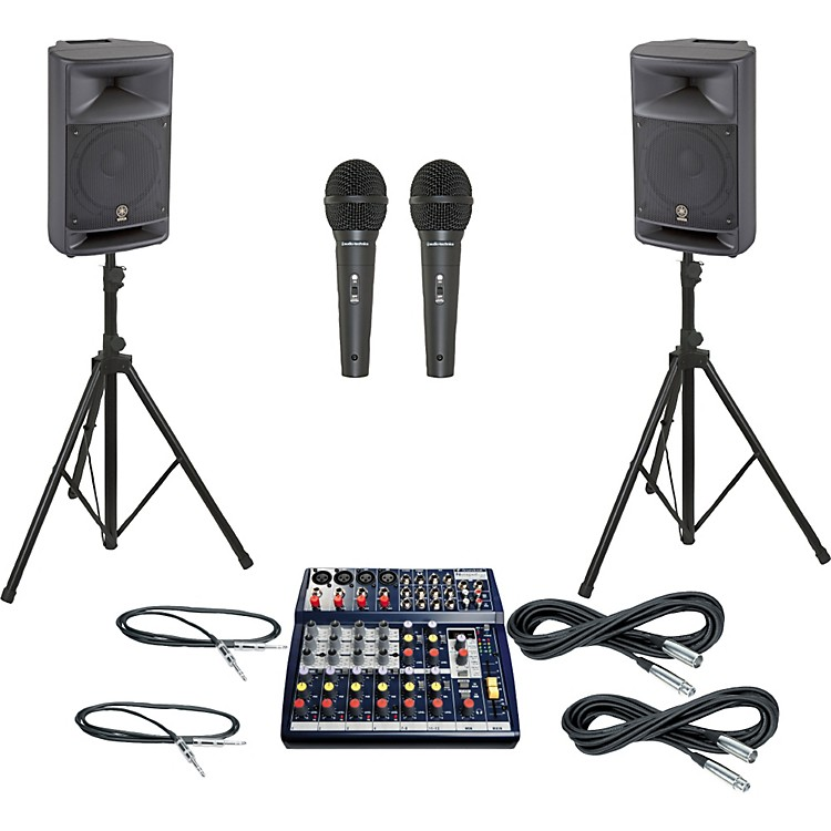 Soundcraft Notepad 124FX / MSR250 PA Package