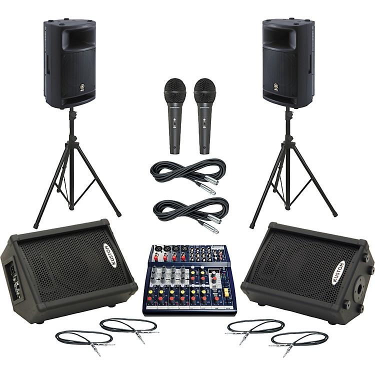SoundcraftNotepad 124FX / MSR400 Mains & Monitors Package