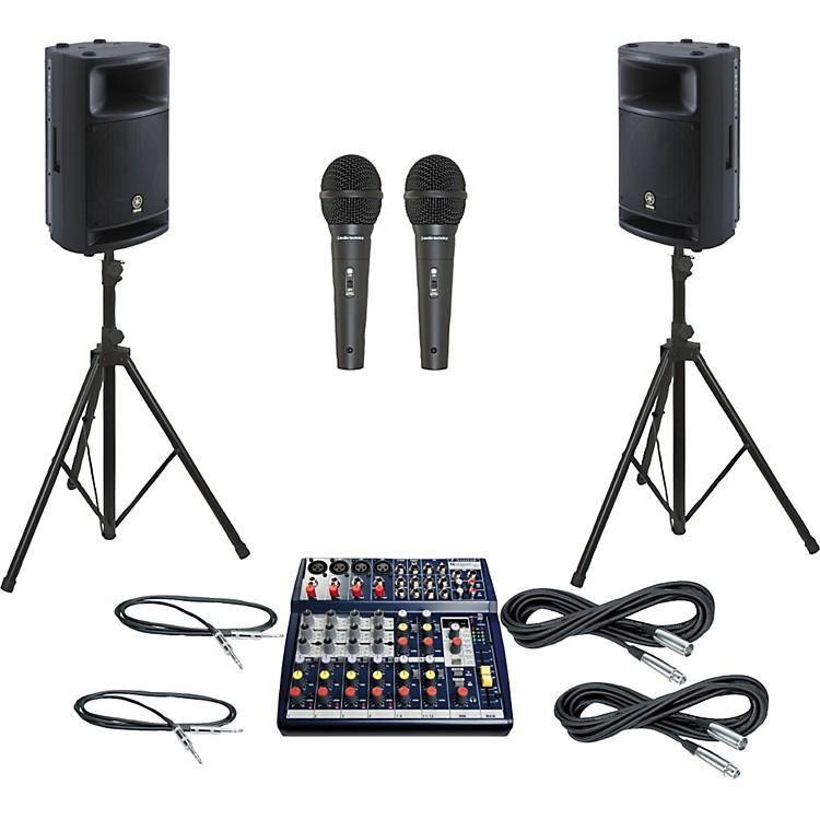 SoundcraftNotepad 124FX / MSR400 PA Package