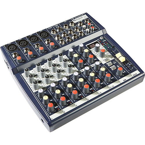 Soundcraft Notepad 124FX Mixer with Effects